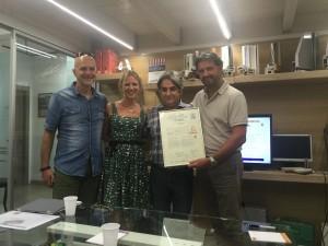 Gianfranco + Trav + Carna + Irene cons IFT